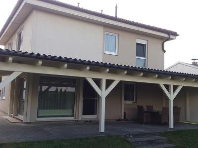 Terrassen, Vordächer
